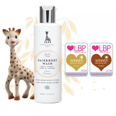Slika za Sophie la Girafe® Baby Natural Hair Brush Set