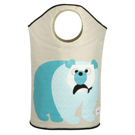 Slika za 3Sprouts® Koš za igrače in perilo Polarni medvedek