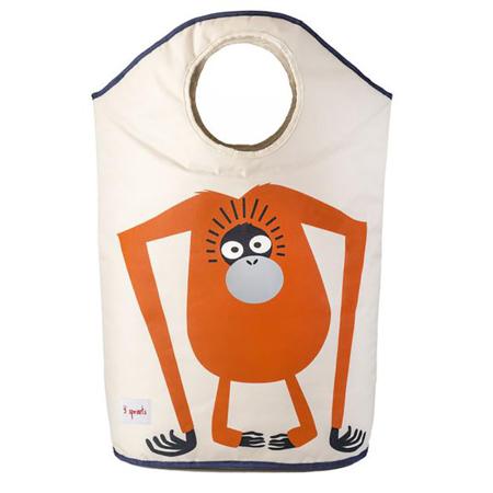 Slika za 3Sprouts® Koš za igrače in perilo Orangutan