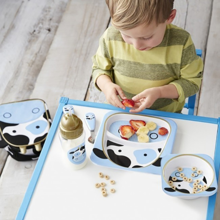 Skip Hop® Otroški jedilni pribor Kravica