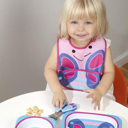 Skip Hop® Otroški jedilni pribor Metuljček