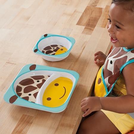 Slika za Skip Hop® Jedilni set Žirafa