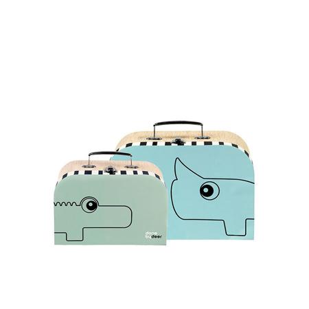 Slika za Done by Deer® Set mini kovčkov