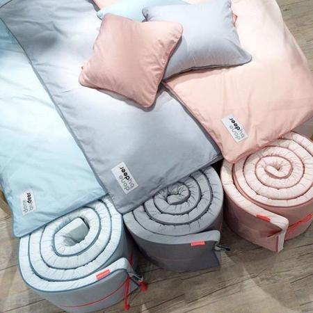 Done by Deer® Porub za dječji krevetić Happy Dots 350 cm