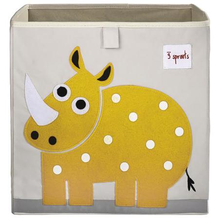 Slika za 3Sprouts® Škatla za igrače Nosorog