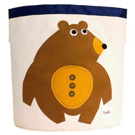 Slika za 3Sprouts® Koš za igrače Medvedek