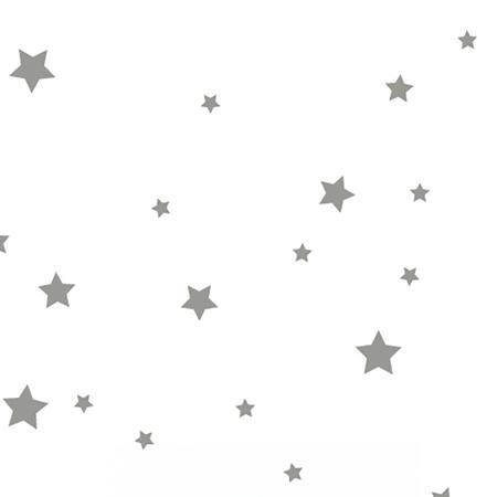 Pick Art Design® Stenske nalepke Sive zvezdice