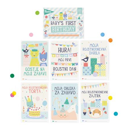 Slika za Milestone® Knjižica za posebne priložnosti Prvi rojstni dan