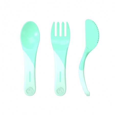 Twistshake® Početni pribor za jelo (6+m)