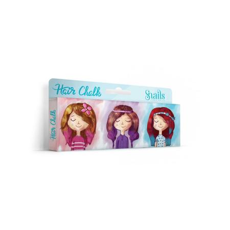 Snails® Set 3 krede za kosu u različitim bojama