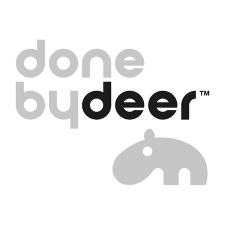 Done by Deer® Posteljina Balloon Dark Powder 70x100 in 100x135
