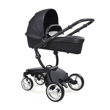Mima® Dječja kolica s košarom 2u1 Xari Black