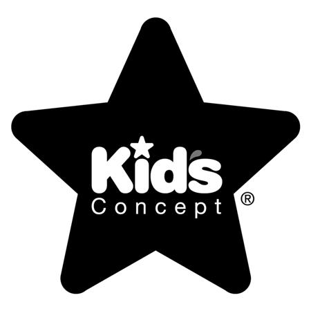 Kids Concept® Leseni obešalnik Star White