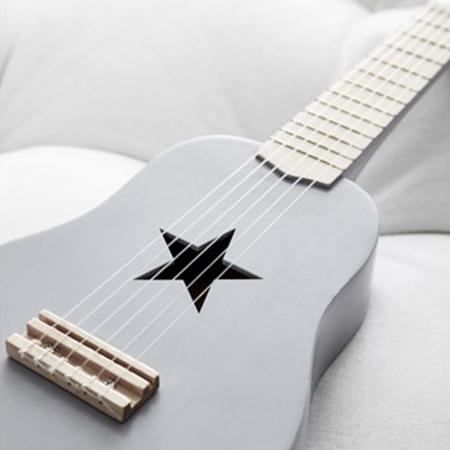 Slika za Kids Concept® Lesena kitara Grey