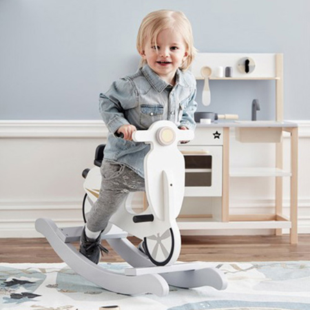Kids Concept® Rocking scooter Grey