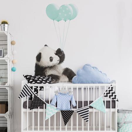 Slika za Dekornik® Stenska nalepka Minty Panda