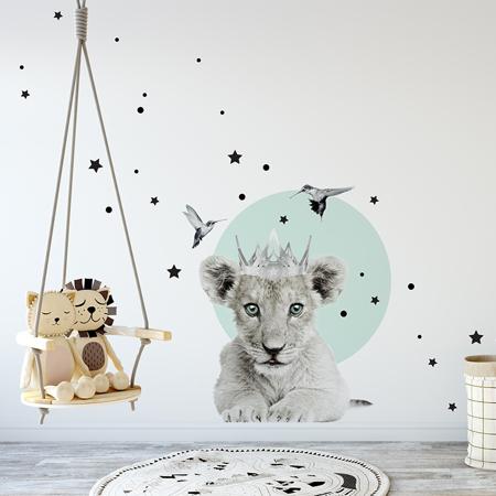 Slika za Dekornik® Stenska nalepka Little Lion King