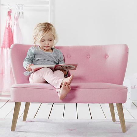 Slika za Kids Concept® Otroška Zofa Pink