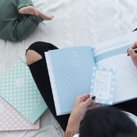 Slika za Z ljubeznijo, Mama® Dojenčkov dnevnik Moder