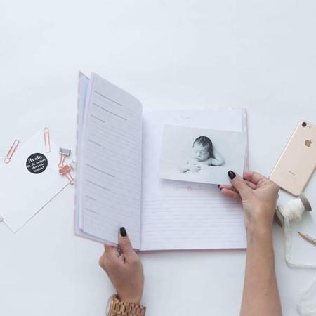Slika za Z ljubeznijo, Mama® Dojenčkov dnevnik Črn
