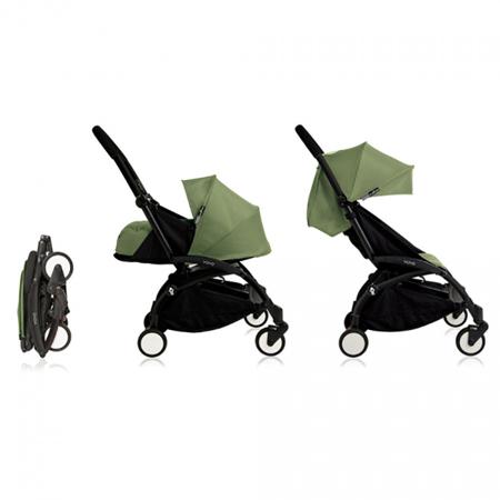 Slika za Babyzen® YOYO+ Dječja kolica 6+ Peppermint Black Frame