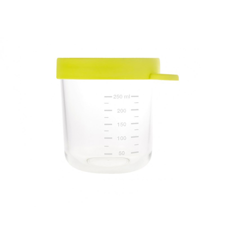 Beaba® Set 2 steklenih posodic za shranjevanje 150ml in 250ml