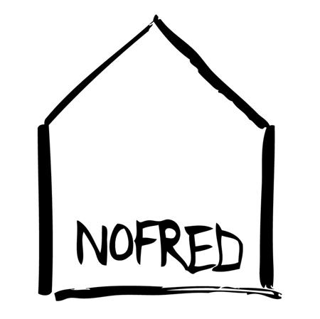 NoFred® Visoki stolček Mouse White 3-9let