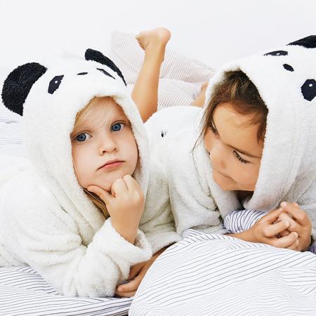 Liewood® Ogrtač za kupanje Lily Panda Creme de la Creme