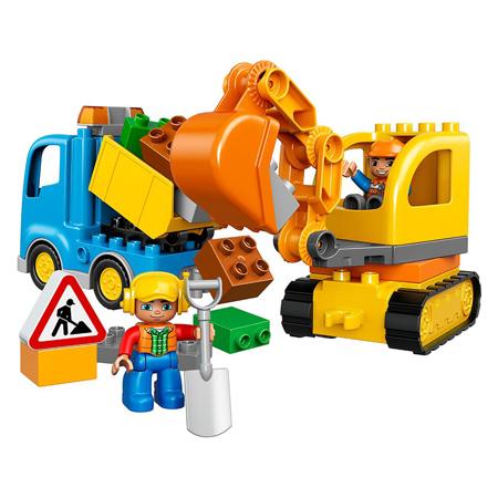 Lego® Duplo Kamion i bager gusjeničar