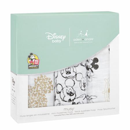 Slika za Aden+Anais® Komplet 3 tetra pelene Disney Mickey's 90th  70x70