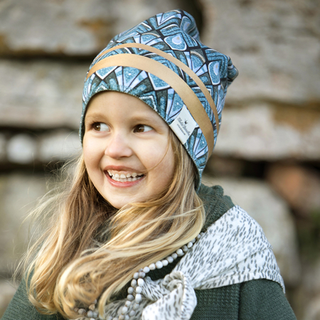 Slika za Elodie Details® Kapa Gilded Everest Feathers