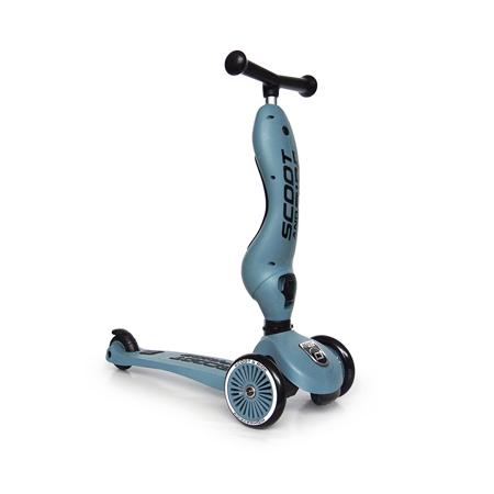 Scoot & Ride® Dječja guralica i romobil Highwaykick 1 Steel
