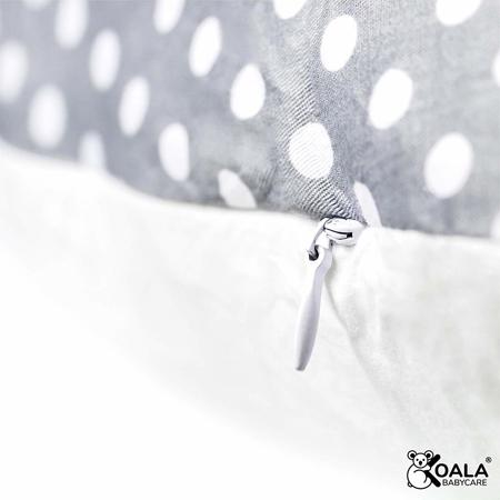 Slika za Koala Babycare® Jastuk za trudnice Hug+ Comfy Grey