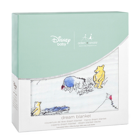 Slika za Aden+Anais® Bombažna odejica Disney Winnie The Pooh 120x120