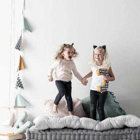 Kids Concept® Dekoracijske zastavice Modra