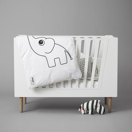 Slika za Done by Deer® Otroška posteljica 140x70