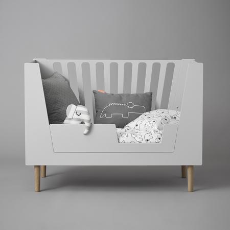 Slika za Done by Deer® Posteljno varovalo za posteljico 140x70