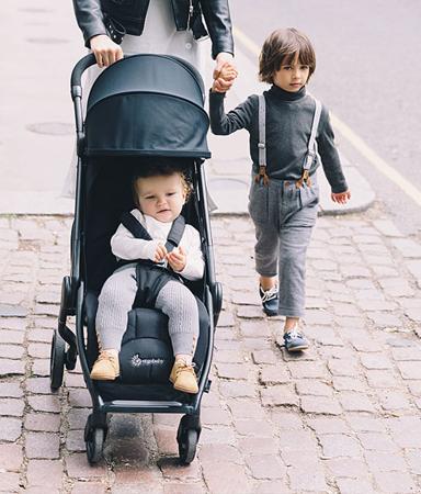 Slika za Ergobaby® Športni marela voziček Metro Black