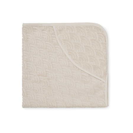 Slika za CamCam® Brisača s kapuco Light Sand 80x80