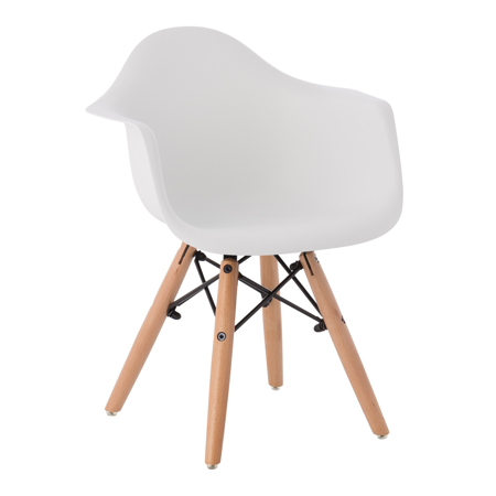 Slika za EM Furniture Eiffel Dječja stolica Arm White
