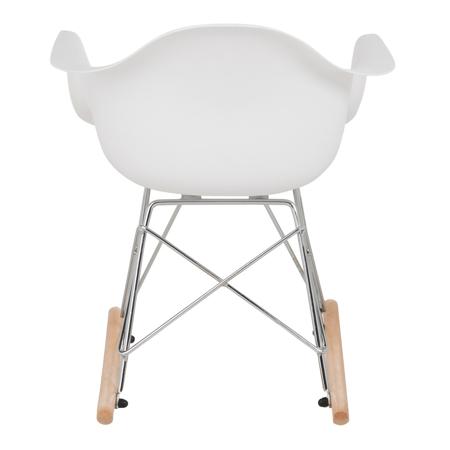 Slika za EM Furniture RAR Dječja ljuljačka stolica White