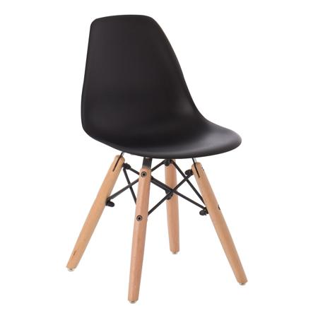 Slika za EM Furniture Eiffel Dječja stolica Black
