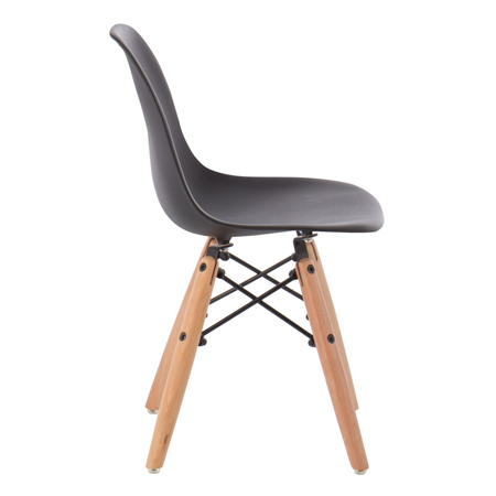 EM Furniture Eiffel Dječja stolica Black