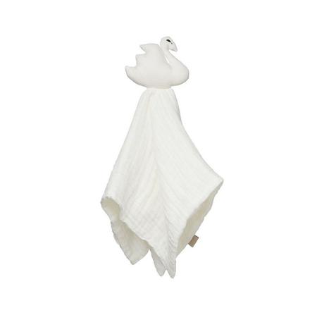 CamCam® Mazilica i tetra pelena Labud Off-White 26x15