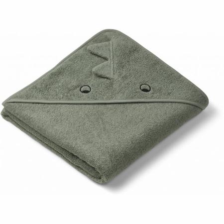 Slika za Liewood® Ručnik s kapom Augusta Dino faune green 100x100
