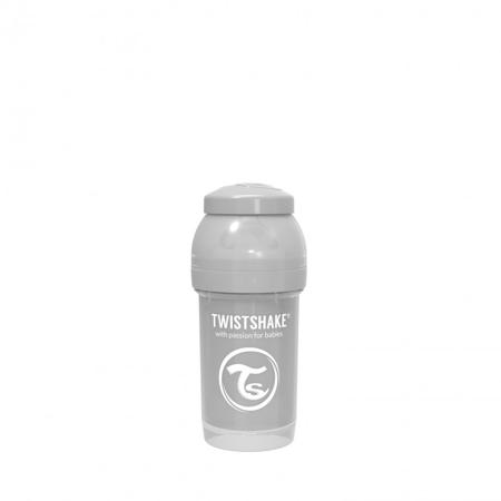 Twistshake® Anti-Colic bočica 180ml (0+M) - Pastel Grey