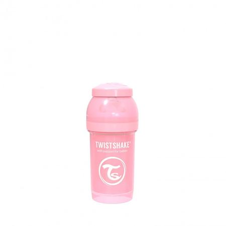 Twistshake® Anti-Colic bočica 180ml (0+M) - Pastel Pink