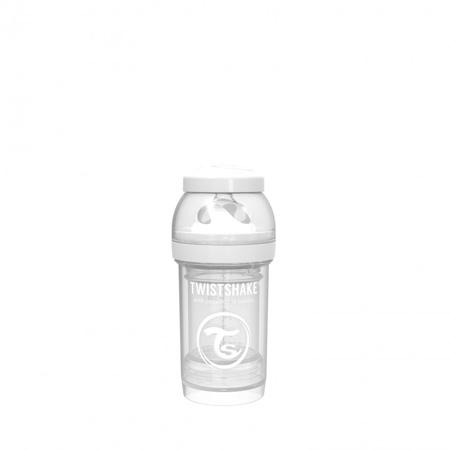 Twistshake® Anti-Colic bočica 180ml (0+M) - White