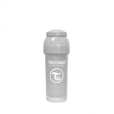 Twistshake® Anti-Colic bočica 260ml (2+m) - Pastel Grey