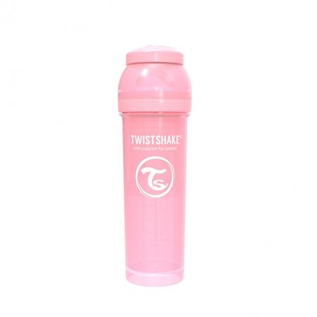 Twistshake® Anti-Colic 330ml (4+m) - Pastel Pink